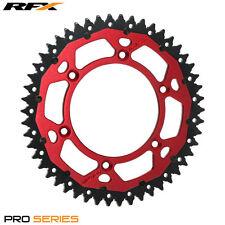 RFX Rear Sprocket Suzuki RM 125 250 RMZ 250 450 86-17 (50 T) Armalite Red
