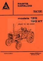 Allis Chalmers 190 One-Ninety XT Repair Part Manual