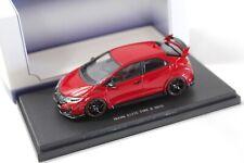 1:43 Ebbro Honda Civic Type R 2015 milano red NEW bei PREMIUM-MODELCARS