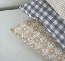 Kissen 40x80 Kissenbezug@lavendels beige vintage Ornamente  REDUZIERT