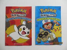 Pokemon Black & White Books Sandile in Trouble Emolga Makes Mischief Softcover