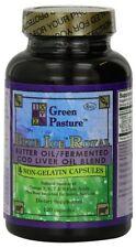 Blue Ice Royal Butter Oil / Fermented Cod Liver Oil Blend 120 Veg Caps