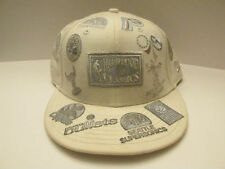 Hardwood Classic White and Silver NBA Teams Hat Unique Vintage New Era