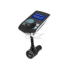 Cargador Mechero Coche MP3 Manos Libres Bluetooth 2USB Micro SD  FMPantalla d327