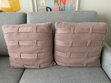 2x Country Road knit cushions rose pink BNWOT