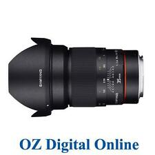 New Samyang AE 35mm f/1.4 AS UMC Lens for Canon 1 Yr Au Wty
