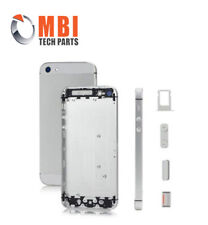 iPhone 5S Silver White New Replacement Metal Back Housing Cover Case