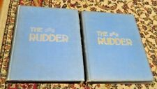 2 VOL-The Rudder-Bound Magazine-Yachts/Yachting-Vols.25+26-January/December 1911