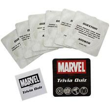 Marvel avengers trivia 50 cartes jeu puzzle quiz nouveauté hulk thor iron man