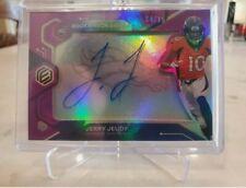 NFL 2020 Jerry Jeudy Rookie Neon Auto Card BRONCOS 14/15 *Rare*
