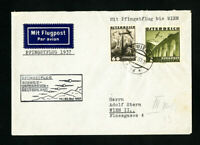 Austria Stamped Flown Cover