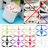Metal Dust Guard Protective Case Shell Skin Stickers For Apple Airpods 2nd 1st