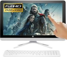 "HP All-in-One 22"" Full HD TouchScreen Intel 4GB Ram 1TB HD Windows 10 Computer"