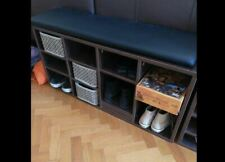 Shoe cabinet with seat cushion Vincent