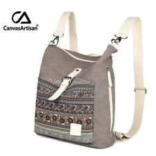 Womens Canvas Backpack Shoulder Bag Casual Backpack