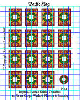 Waterslide Transfers for Warlord Games  Romans Legionary Shields (Design 1)