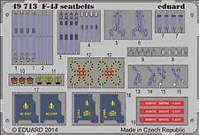 Eduard 1/48 McDonnell F-4J Phantom Seatbelts for Academy # 49713