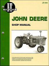John Deere Tractor Repair Manual John Deere 3010, 3020, 4000, 4010, 4020, 4320