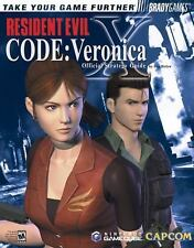 Resident Evil Code: Veronica X Official Strategy Guide Paperback (Bradygames)