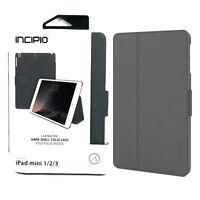 Incipio Lexington Kickstand Folio Case for Apple iPad Mini 2 / 3 - Gray
