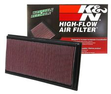 2 K&N Hi-Flow Air Intake Filters 33-2857 For Audi Porsche VW V8