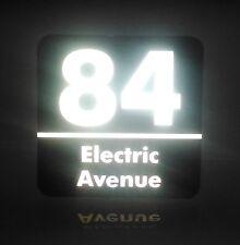 Custom Reflective house Address signs / 200mm x 200mm