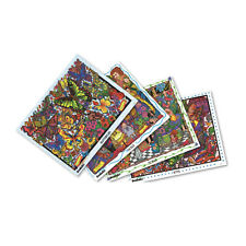 The Original DoodleArt Mini Kit 1 Adult Coloring Poster Set
