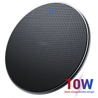 10W Fast Charging Qi Wireless Charger Pad Dock for iPhone 11 Pro Max Galaxy S10+