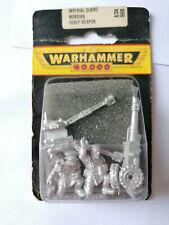 Warhammer 40K Imperial Guard Mordian Heavy Weapon BNIB OOP
