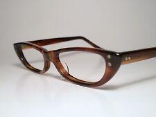 Nip Vintage A/O American Optical Mini Eyeglasses Frame Demi-Amber 46-14 Sm/Kids