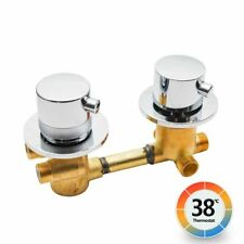 Thermostatic Shower Faucets Valve Control Mixer Brass Bathroom Tap Accessories
