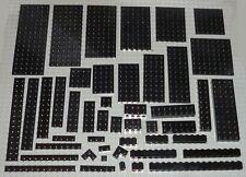 Lego 10x Genuine Black 3x6 Frame Lattice Rectangle Four Studs 6172984 29165 NEW