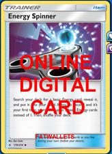 4X Energy Spinner 170/214 Unbroken Bonds Pokemon TCG Online Digital Card