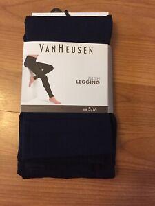 BNWT Van Heusen Black Leggings Sizw S/M