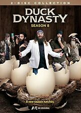 DUCK DYNASTY - SEASON 8  -  DVD - UK Compatible - New & sealed