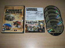 COMBAT MISSION ANTHOLOGY Pc Cd Rom inc. CM 1 2 & 3 - 3 full games FAST DISPATCH