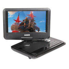 "Portable DVD Player with 9"" Swivel Screen Built in battery, region free DVDPT9B"
