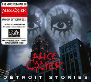 Alice Cooper - Detroit Stories Limitierte Exklusive Editon [CD + DVD]
