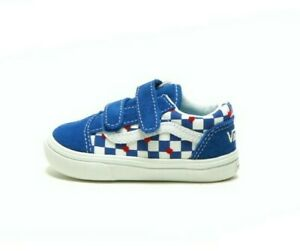 VANS Toddler's Comfycush Old Skool V VN0A4TZIWI4 Vans Heart/True Blue
