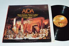 VERDI Aida Scenes and Arias LP 1962 Angel Records USA Stereo VG+/VG Classical