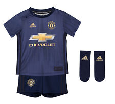 Official Manchester United Third Baby Kit 2018 19 Football Shirt Shorts  Jersey 7be650c4e