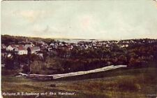 MAHONE N.S. CANADA LOOKING OUT THE HARBOR 1918