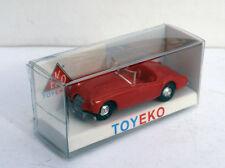 MG 1600 SPORT ROJO RED 1/87 TOYEKO TOY EKO