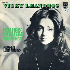 """7"""" Vicky Leandros – Ich hab' die Liebe geseh'n // Belgium 1972"""