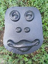 Plaster cement tree face plastic mould garden casting frog face mold
