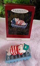 1993 Polar Bear Water Bed Snooze Hallmark Keepsake Ornament ice cube