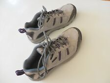 New Balance womens tennis shoes size 7.5, grey & purple