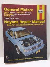 Buick Century Chevrolet Celebrity Oldsmobile Ciera Cutlass Crusier Haynes Manual