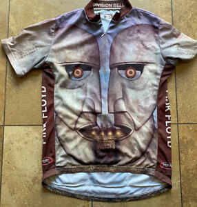 Pink Floyd Division Bell Primal Cycling Jersey Mens/ Adult Large
