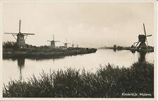 PC37863 Kinderdijk. Molens. Gebrs Verloop. B. Hopkins